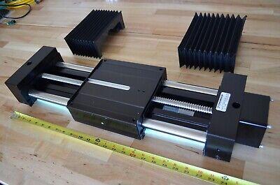 Thomson 2db16 X24 Nema34 Super-slide Linear Ballscrew Actuator W Bellows Cover