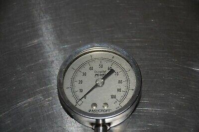 Ashcroft Duralife Plus Stainless Steel Pressure Gauge