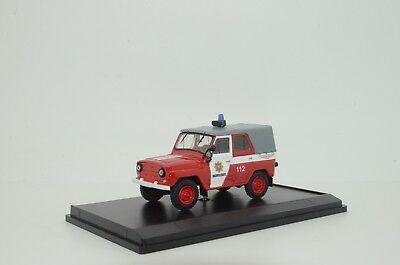 RARE !!! UAZ 469 Latvia Fire Jeep Custom Made 1/43 for sale  Shipping to United States