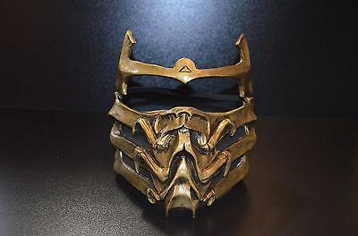 Scorpion Mask (MK9 Toasty mask costume cosplay Scorpion Mortal Kombat MKX)