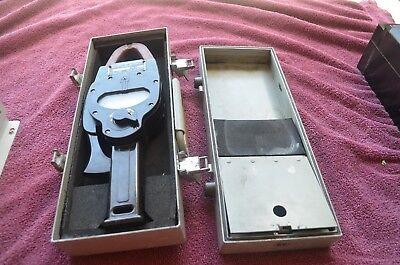 Bruno Me-79ausm-33 Vintage Multimeter In Metal Box Anusm-33