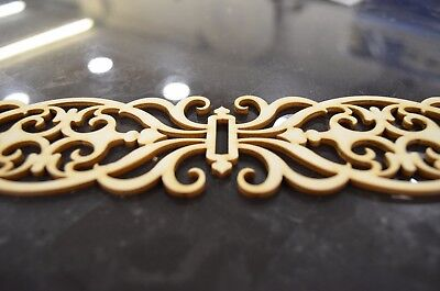 Carved wooden panel *50 by 6 CM* Decorative Panel Trim Plaque Beading Wood Dado
