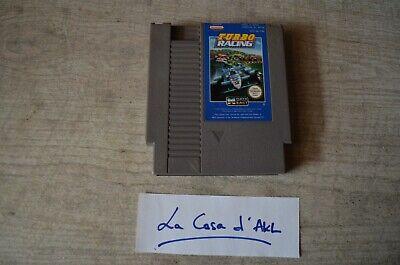 Turbo Racing sur Nintendo Nes - loose TBE PAL FRA