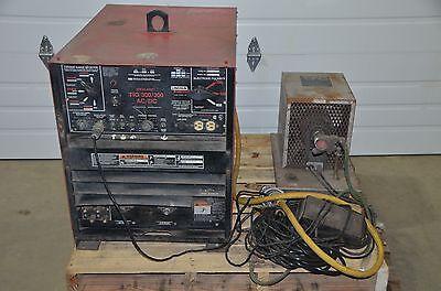 Lincoln Idealarc Tig 300300 Acdc Welder 208-230460v Bernard 3 Gallon Cooler