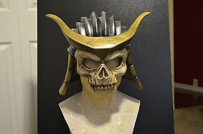 MK9 The Emporer mask costume cosplay Shao Kahn Mortal Kombat MK9 MKX  Helmet