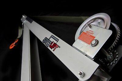 Pickup Truck Aluminum Lightweight Crane By Spitzlift 4ft Boom Brand New