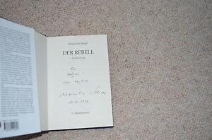 MAXIMILIAN SCHELL signed Autogramm in Buch DER REBELL signiert In Person 1997