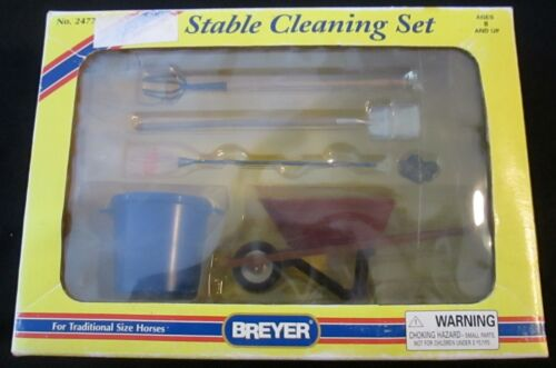BREYER STABLE CLEANING SET NO 2477 NEW IN BOX