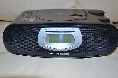 CD ALARM CLOCK RADIO -  PHILIPS MAGNAVOX - AJ 3925/17
