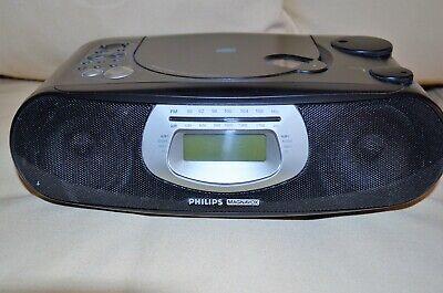 CD ALARM CLOCK RADIO -  PHILIPS MAGNAVOX - AJ 3925/17
