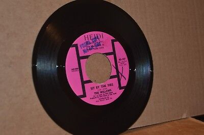 THE WILLOWS SIT BY THE FIRE & SUCH A NIGHT MINT- NORTHERN SOUL/DOO WOP PROMO 45