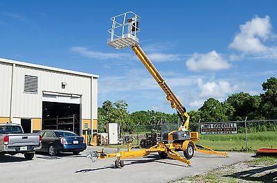 Haulotte 3632t 436 Work Height Towable Boom Lift 32 Outreachformer Bil Jax