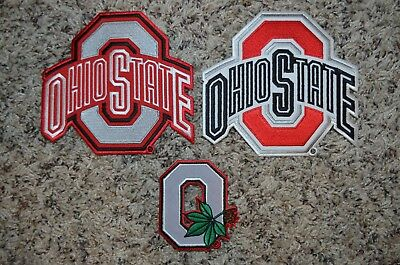 CHOICE: Ohio State Buckeyes Logo Patch for Jersey Hat Shirt Backpack Jacket - Ohio Jersey Hat