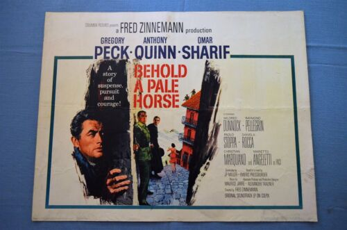 """Vintage Movie Poster,  """"Behold a Pale Horse"""" (1964)"""