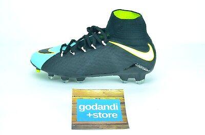 new product f010c 6001c Nike Hypervenom Phatal III 3 DF FG Size 6.5 Women s Cleats Aqua Black  881546-400
