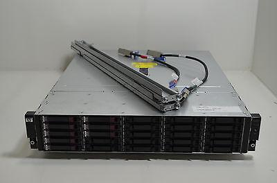 HP Storageworks M6625 AJ840A 25 Bay Storage Array  - w/ Rails & Cables
