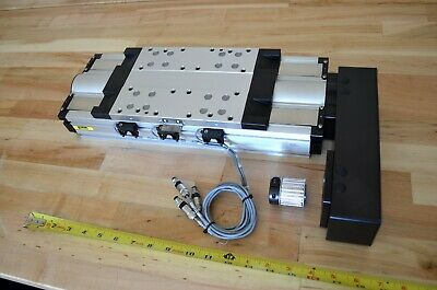 16 Parker 406xr Linear Actuator Precision Ground Ballscrew - Cnc Router Z-axis