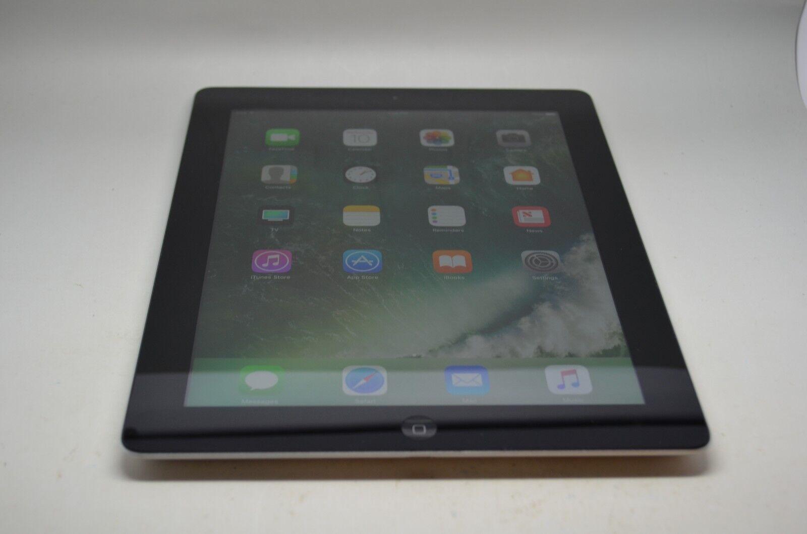 Apple iPad 4th Gen. 16GB, Wi-Fi, 9.7in, - Black, Good Condition!