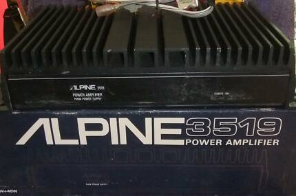 ALPINE 3519 2 CHANNEL POWER AMPLIFIER 45W + 45W