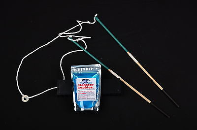 Monster Bubbles Kit - (1) Wand (1) Bubble. Big Huge Giant Bubbles. Free Shipping