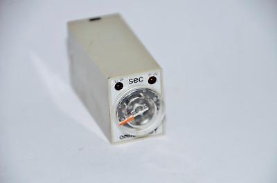 Lot Of 2 Omron Timer H3y-2-timer Seconds Timer 100vac 5a