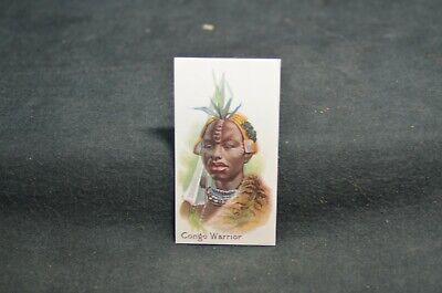 Tobacco Card Taddy's Premier Navy Cut - Congo Warrior