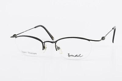 BRENDEL Super Titanium Brille Mod.8625 Col.19 47[]19 135 Half-Rim Frame Black