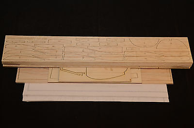 1.7/8 scale MESSERSCHMITT BF-109E Laser Cut Short Kit & Plans 61 in. wing span