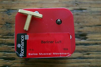 Spielwerk Ersatzspielwerk Spieluhr Reuge Berliner Luft Romance
