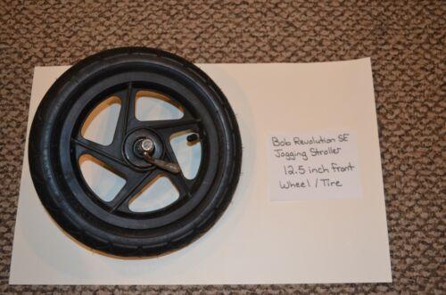 BOB Revolution SE Jogging Stroller - 12.5 inch quick release front wheel / tire