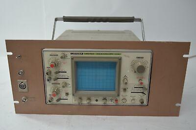 Leader Lbo-522 Oscilloscope 2 Channel Oscilloscope With Rack Mount Case