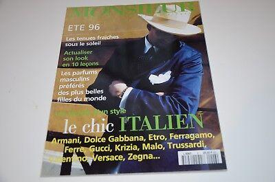 1996 Monsieur Mens Fashion Magazine Paris Edition Bond Watch Ads Montaigne