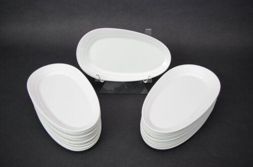 "(6) Dudson Virgin Atlantic Airways R Welch Porcelain Snack Appetizer Plates 10"""