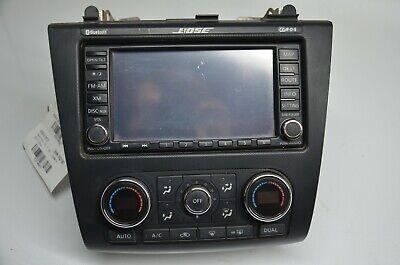 2013 Nissan Altima BOSE Navigation CD Player Radio w/AC Controls OEM 25915ZX04A