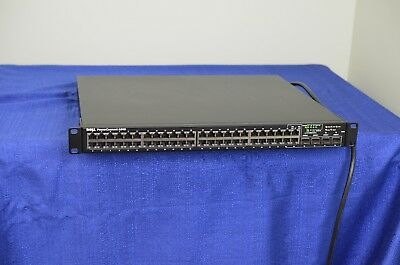 Dell PowerConnect 6248 48 port switch w Stacking Module 10GE XFP module 10GBase