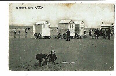 CPA - Carte Postale - Belgique Le littoral Belge en 1909 en 1907 -VM5338