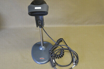 Honeywell Barcode Scanner Model 3800g With Stand Was Used On A Vitek 2  2-a