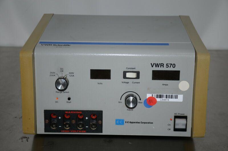 E-C Apparatus VWR 570 Electrophoresis Power Supply