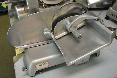 Hobart Commercial Meat Cheese Vegetable Personal Size Slicer Model 410 10 Blade