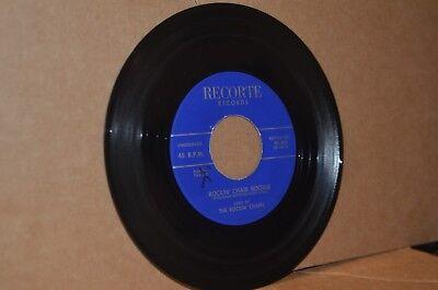 THE ROCKIN' CHAIRS: ROCKIN' CHAIR BOOGIE & A KISS IS A KISS; RECORTE MINT- 45
