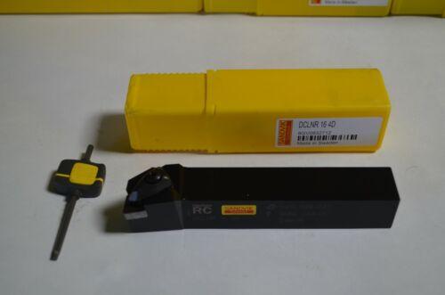 NEW SANDVIK CNC Lathe Insert Tool Holder DCLNR 16-4D