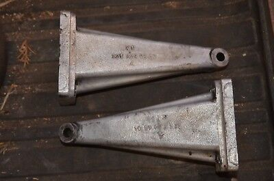 Set of 1959-67 Mercedes OM621 Motor Engine Mount Foot Bracket W120 1212234604 K1