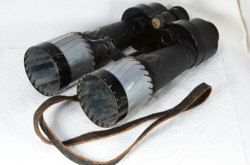 Barr & Stroud CF25 Binoculars British WW2 Military Navy Fleet Air Arm 312