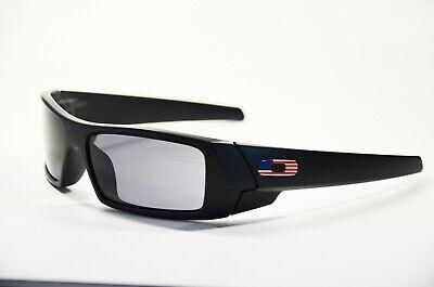 Oakley Gascan OO 9014 11192 matte Black grey USA Neu Kunststoff Sonnenbrille