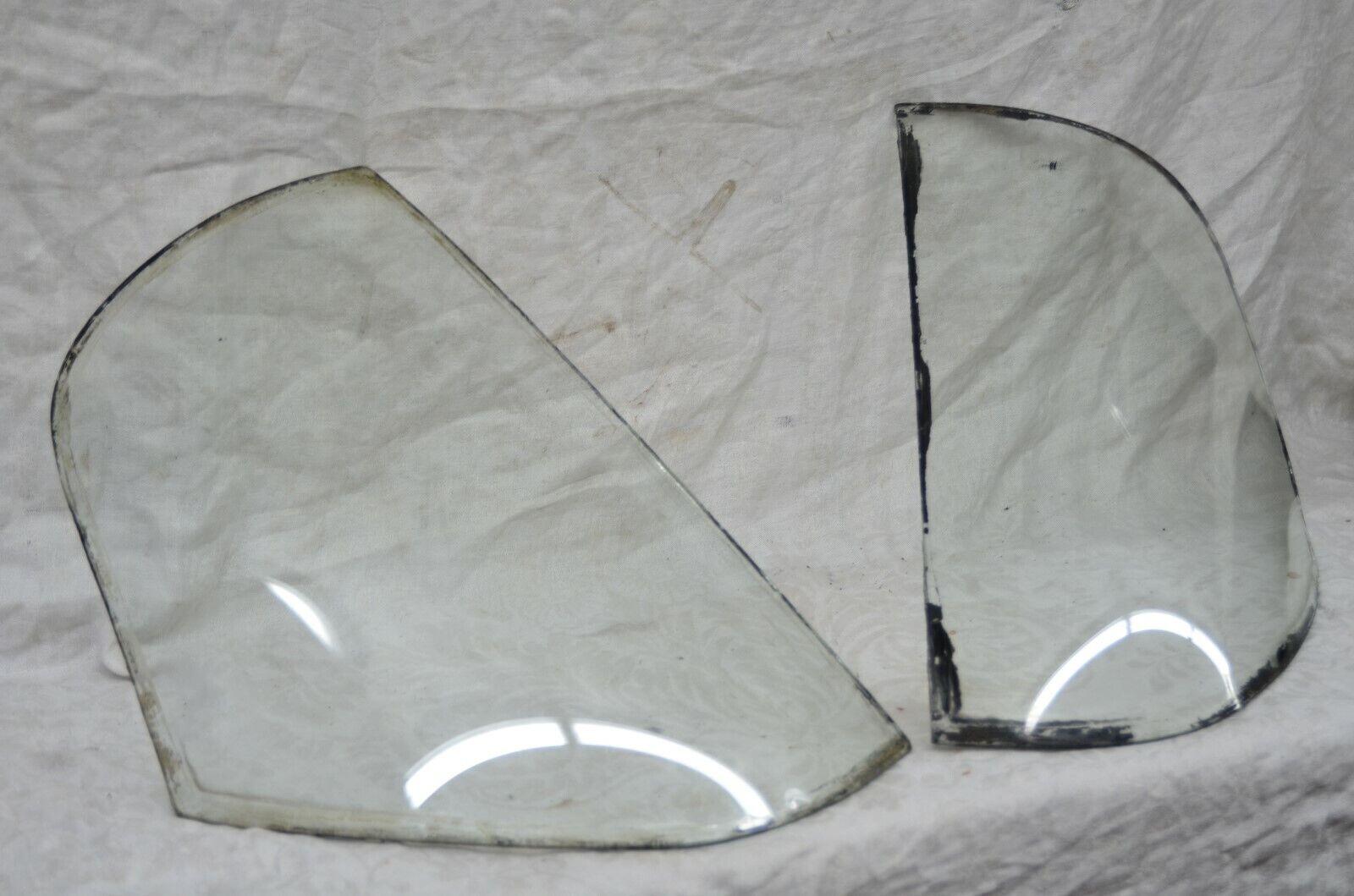 1950-51 Frazer Manhattan Hard Top Rear Curved Glass Corner Windows Sedan Window