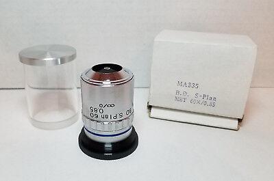 Meiji Techno Ma335 B.d. S Plan 60x 0.85 Microscope 60x Objective - Nice