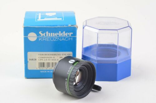 EXC++ BOXED SCHNEIDER COMPONON-S 50mm F2.8 ENLARGING LENS, BARELY USED #16828