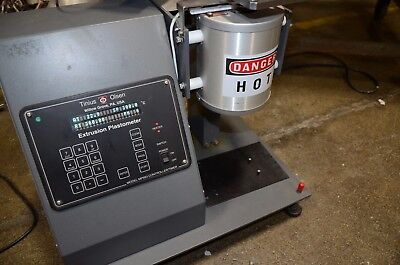 Tinius Olsen Mp993 Mp-993 Extrusion Plastometer Melt Indexer System