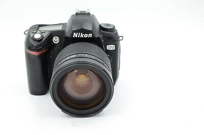 Nikon D70 Digital SLR With Promaster 28-200mm Lens Tested And Working!