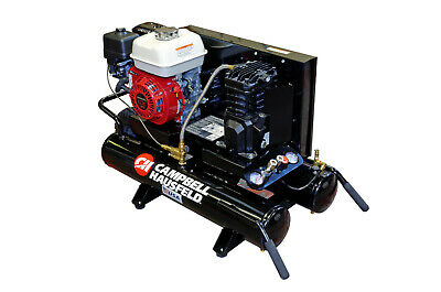 Wheelbarrow Style Petrol Air Compressor with Honda 5.5 HP GX16 Engine CE2000